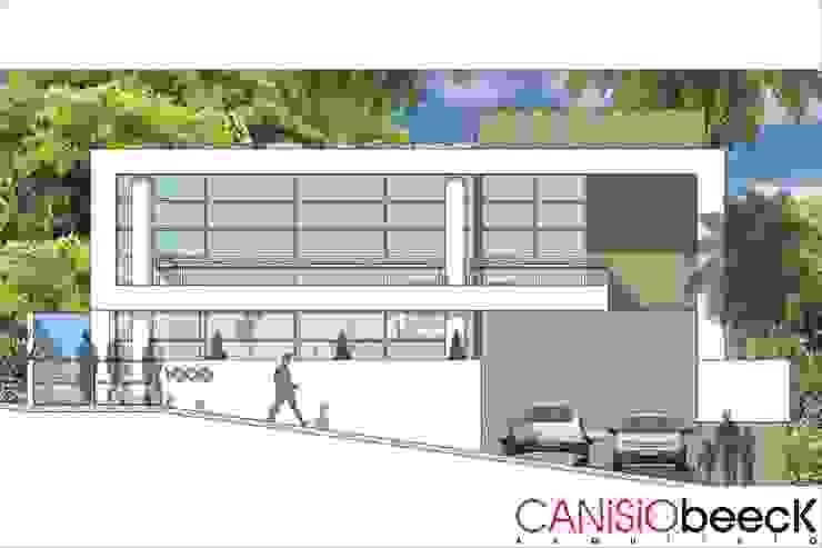 A9 Residência Casas modernas por Canisio Beeck Arquiteto Moderno
