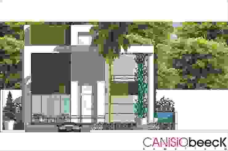 A10 Residência Casas modernas por Canisio Beeck Arquiteto Moderno