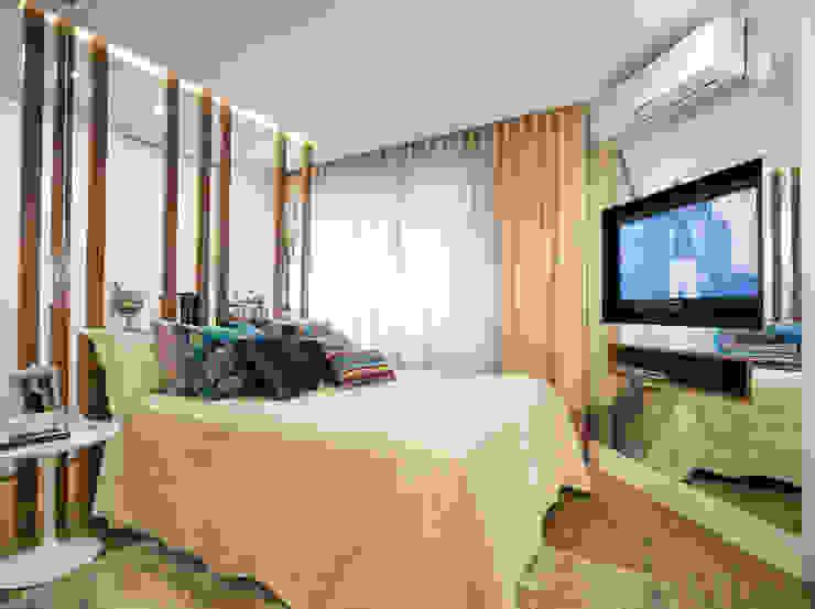 Camera da letto moderna di Mundstock Arquitetura Moderno