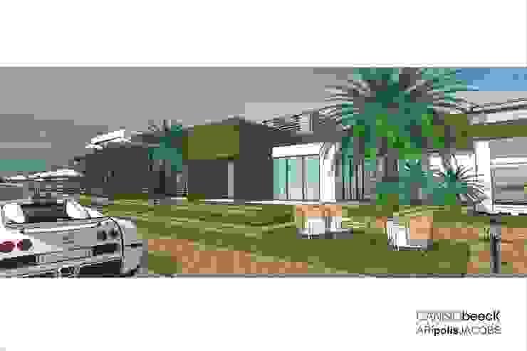 A12 Residência Casas modernas por Canisio Beeck Arquiteto Moderno