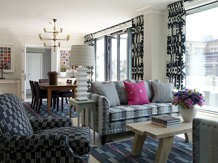 Ham Yard Hotel suite, London. by Vanderhurd Eclectic