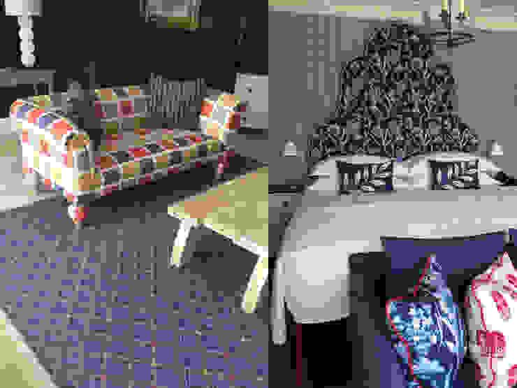Hame Yard Hotel suite, London by Vanderhurd Eclectic