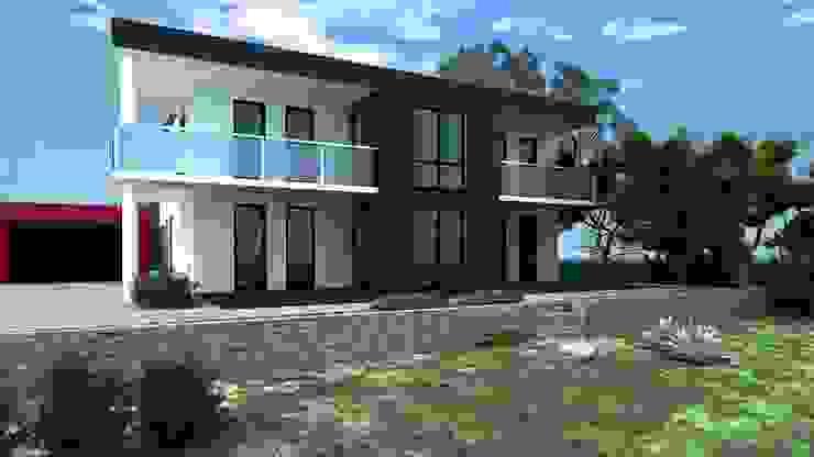 Casas modernas de Siegerland Massivhaus GmbH&Co.KG Moderno