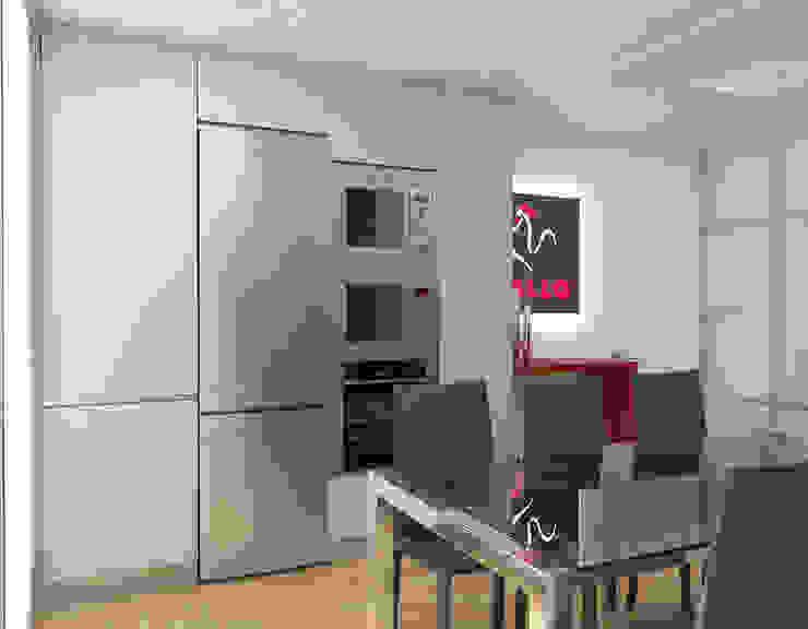 Vista virtual: Oficinas y Tiendas de estilo  de Gramil Interiorismo II - Decoradores y diseñadores de interiores ,