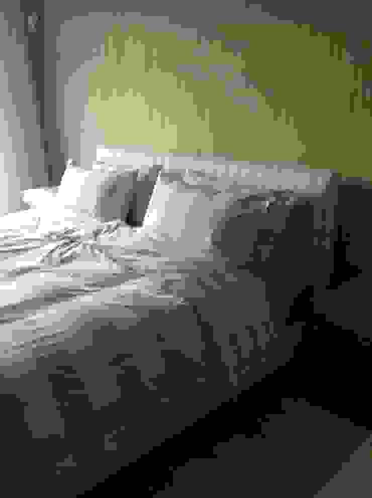 Detalle cama:  de estilo colonial de Gramil Interiorismo II - Decoradores y diseñadores de interiores , Colonial