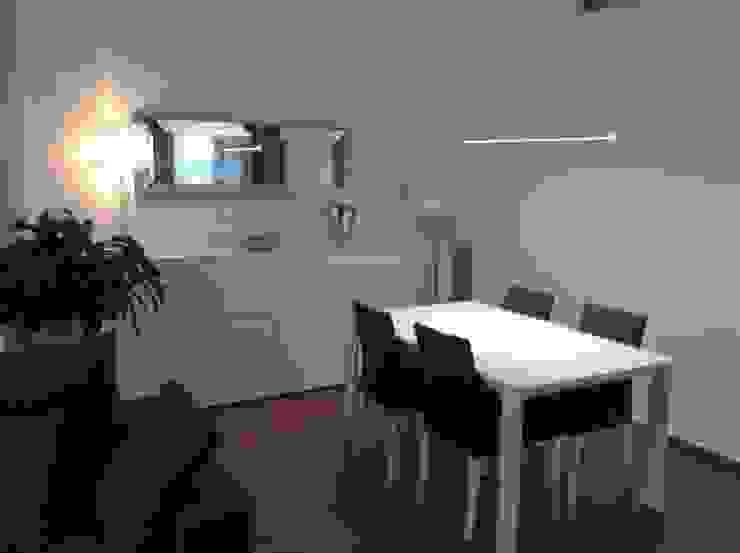 Vista comedor Comedores de estilo moderno de Gramil Interiorismo II - Decoradores y diseñadores de interiores Moderno