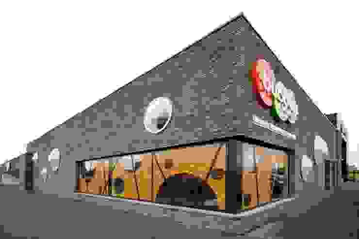 MFA BUBBELS, ZWOLLE Moderne gezondheidscentra van Van den Berg Architecten Houten Modern