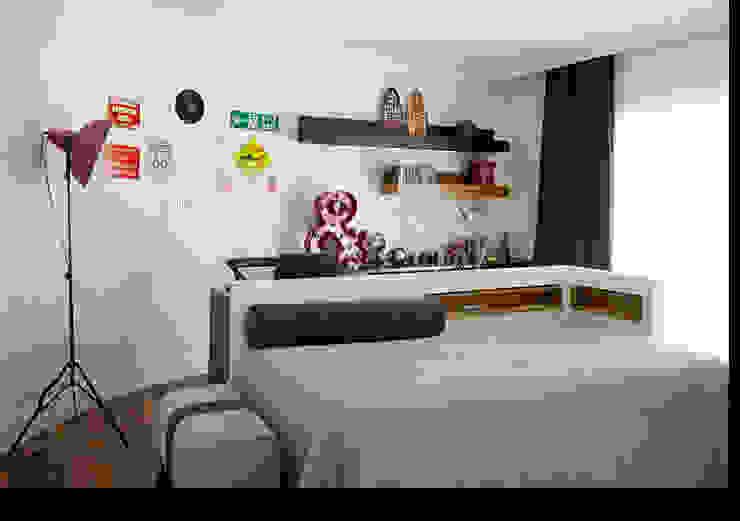Suíte do Rapaz Vilma Massud Design de Interiores Quartos modernos