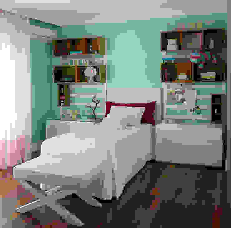 Vilma Massud Design de Interiores Kamar Bayi/Anak Modern