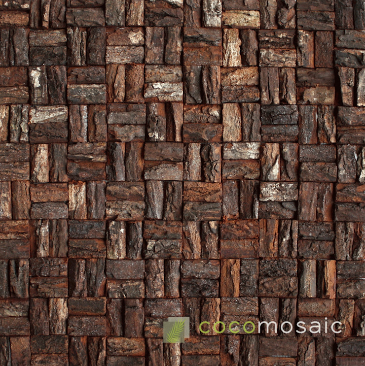 Cocomosaic | Wooden bark small: modern  door Nature at home , Modern