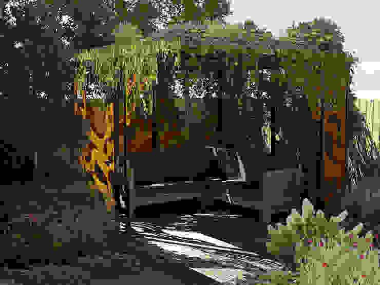 Taman Modern Oleh Bladgoud-tuinen Modern