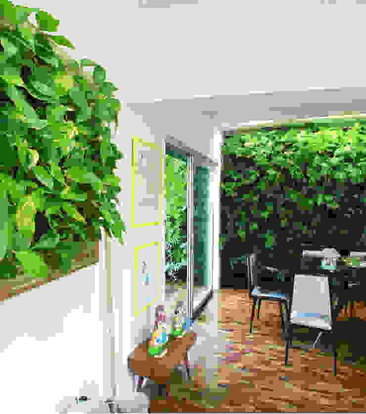 Quadro Vivo Urban Garden Roof & Vertical Kantor & Toko Gaya Rustic