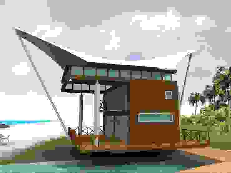 Pousada Villa Pantae Casas modernas por Canisio Beeck Arquiteto Moderno