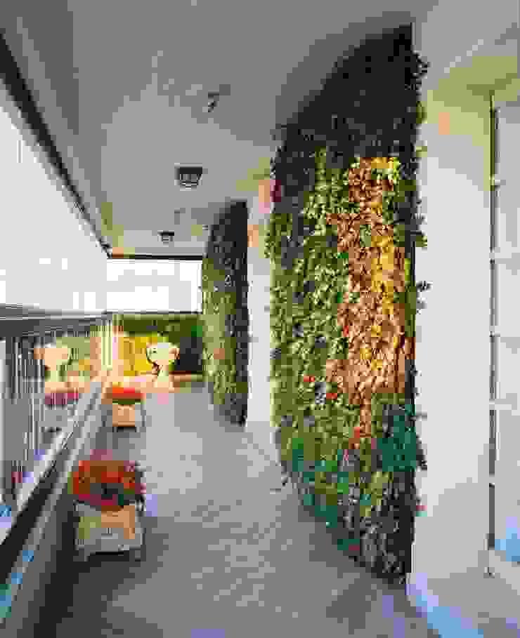 Quadro Vivo Urban Garden Roof & Vertical Balkon, Beranda & Teras Klasik