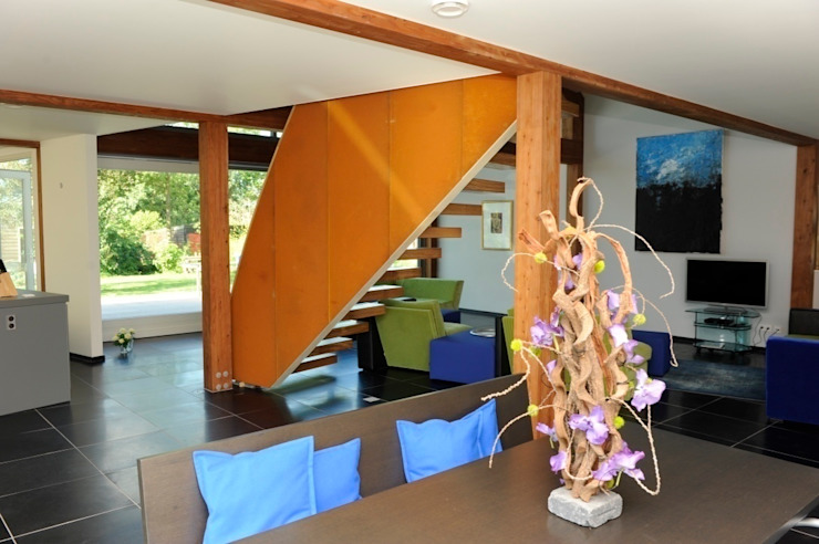 Woonhuis te Aarlanderveen Moderne eetkamers van SEP Blauwdruk architecten Modern