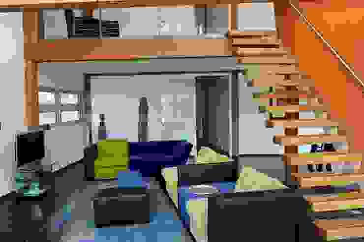 Woonhuis te Aarlanderveen Moderne woonkamers van SEP Blauwdruk architecten Modern