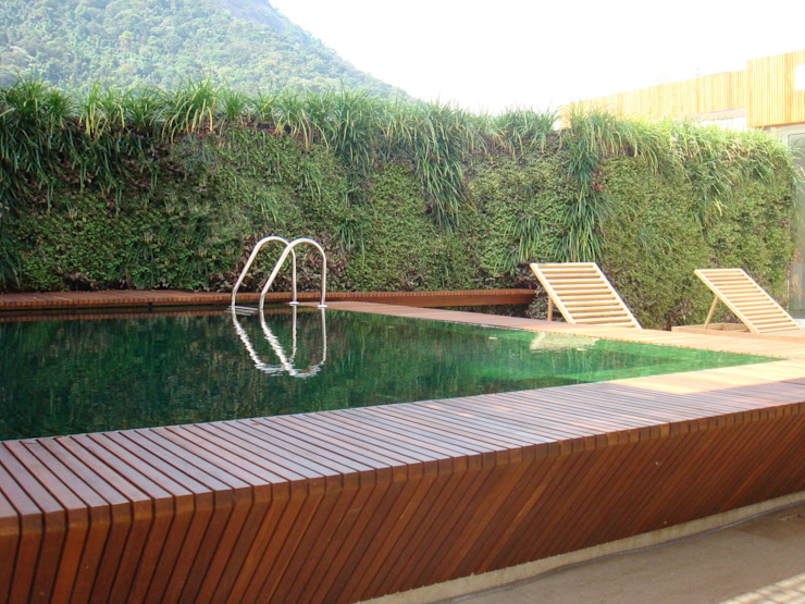 Quadro Vivo Urban Garden Roof & Vertical Taman Minimalis
