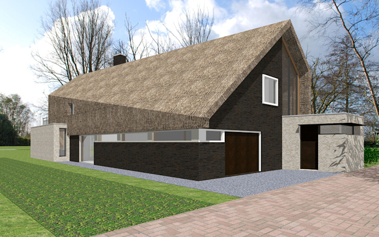 Woonhuis te Aarlanderveen van SEP Blauwdruk architecten Landelijk