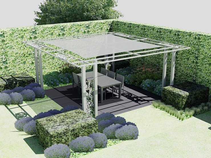Industrial style gardens by Bladgoud-tuinen Industrial