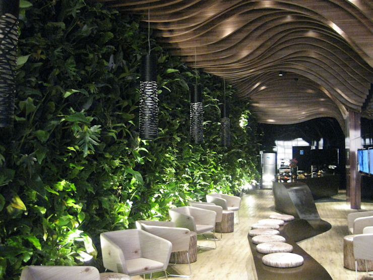 Quadro Vivo Urban Garden Roof & Vertical Bar & Klub Modern