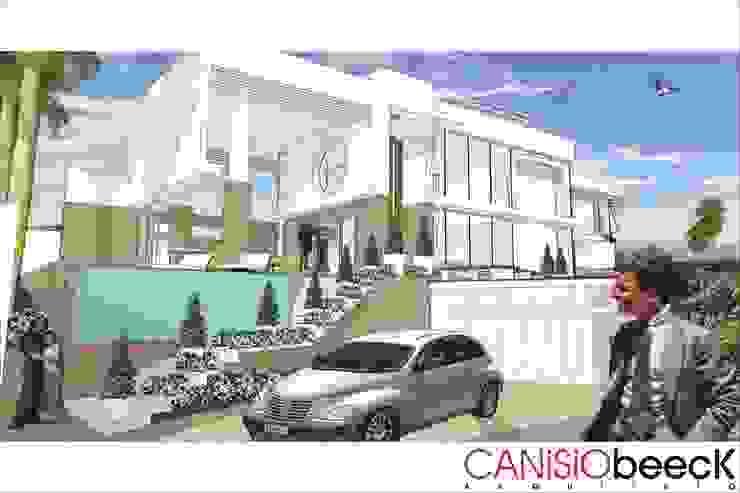 A28 Residência Casas modernas por Canisio Beeck Arquiteto Moderno