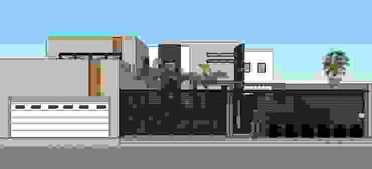 casa #195 Casas modernas de Taller R arquitectura Moderno