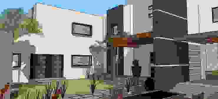 casa #195 Jardines modernos de Taller R arquitectura Moderno