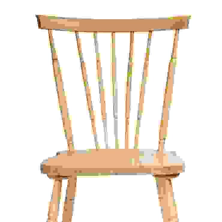 komplet dębowych krzeseł od Magiel
