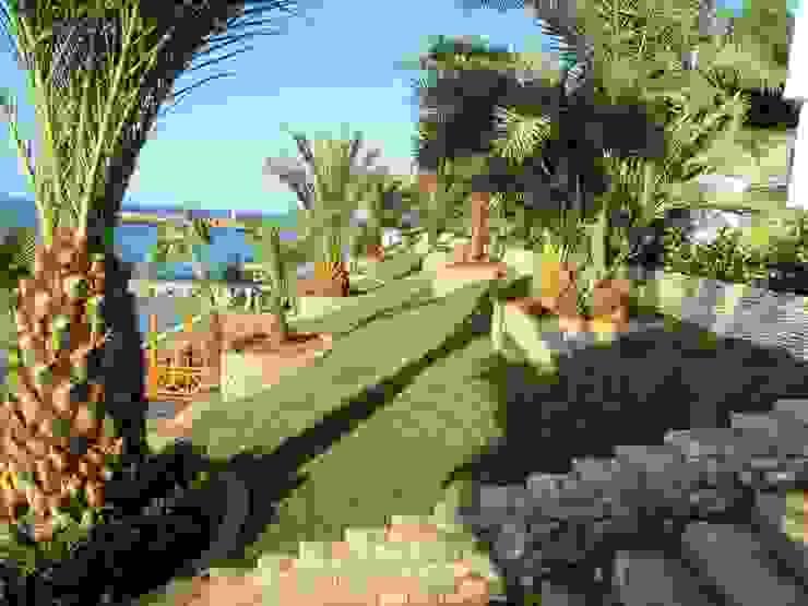 Otel Bahçesi Peyzaj Uygulaması Akdeniz Bahçe homify Akdeniz