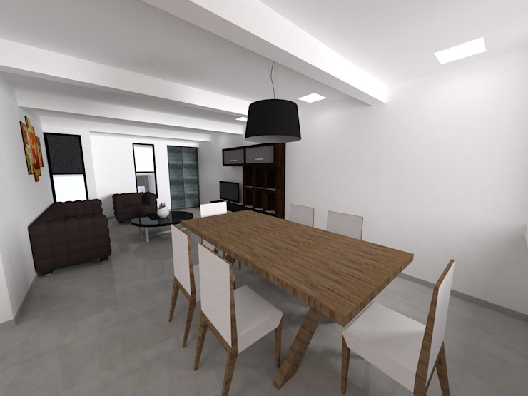 Modern Dining Room by WIGO SC Modern