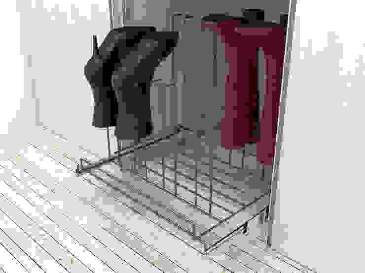 Dormitorios de estilo  por Masutti Copat,