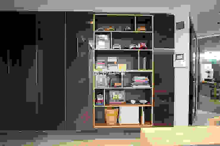 영등포구 당산동 19평형 원룸형 아파트: MID 먹줄의  드레스 룸,모던