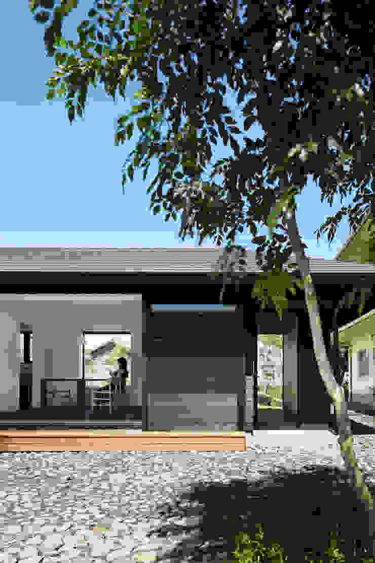 南面外観 モダンな 家 の 山田伸彦建築設計事務所 モダン