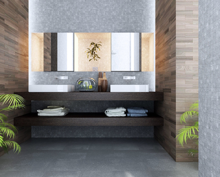 Asian style bathrooms by Ev TAdilatları Asian