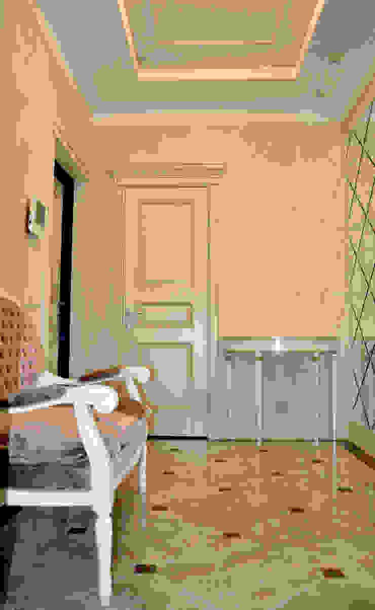 прихожая Коридор, прихожая и лестница в классическом стиле от студия дизайна архитектурной среды 'S-KVADRAT' Классический