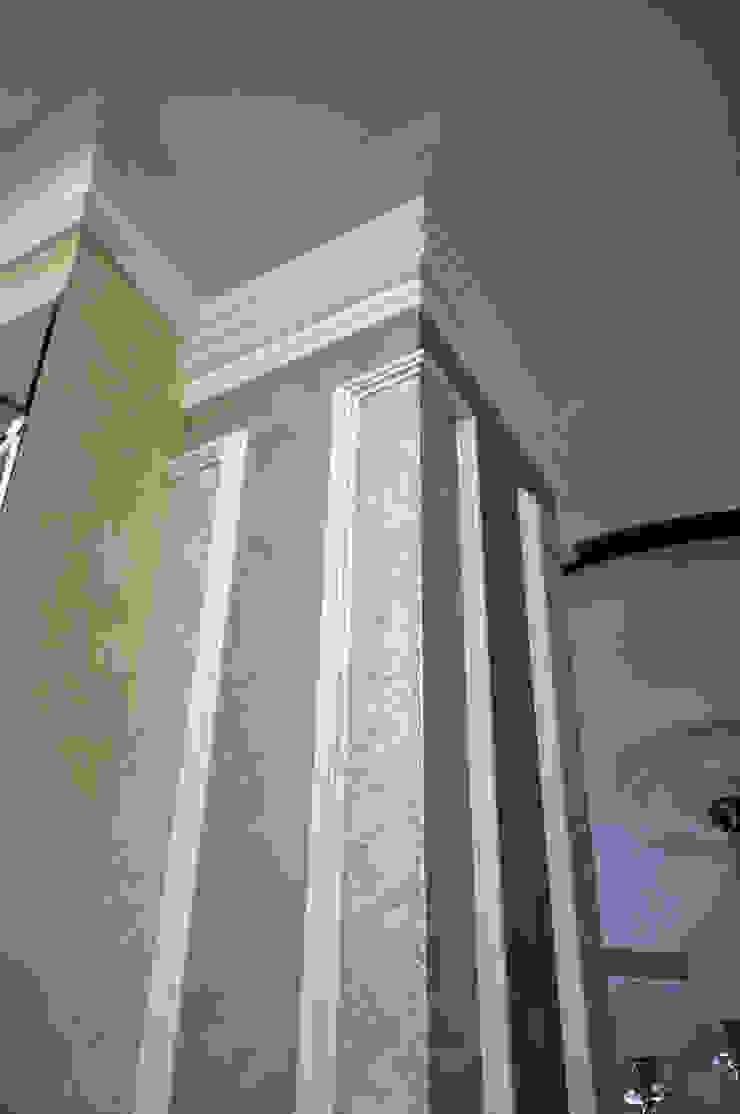 колонна, декоративная краска от студия дизайна архитектурной среды 'S-KVADRAT' Классический