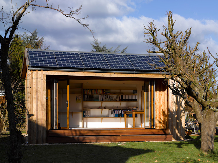 Solar garden room par Energy Space Ltd Minimaliste