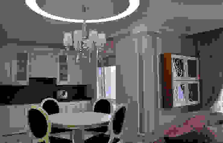 КВАРТИРА ДЛЯ РОДИТЕЛЕЙ Кухня в классическом стиле от студия дизайна архитектурной среды 'S-KVADRAT' Классический