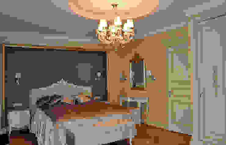 КВАРТИРА ДЛЯ РОДИТЕЛЕЙ Спальня в классическом стиле от студия дизайна архитектурной среды 'S-KVADRAT' Классический