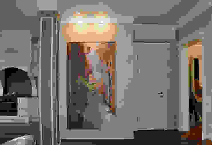 КРЕМ-БРЮЛЕ <q>ПО-КЛАССИЧЕСКИ</q> Гостиная в классическом стиле от студия дизайна архитектурной среды 'S-KVADRAT' Классический