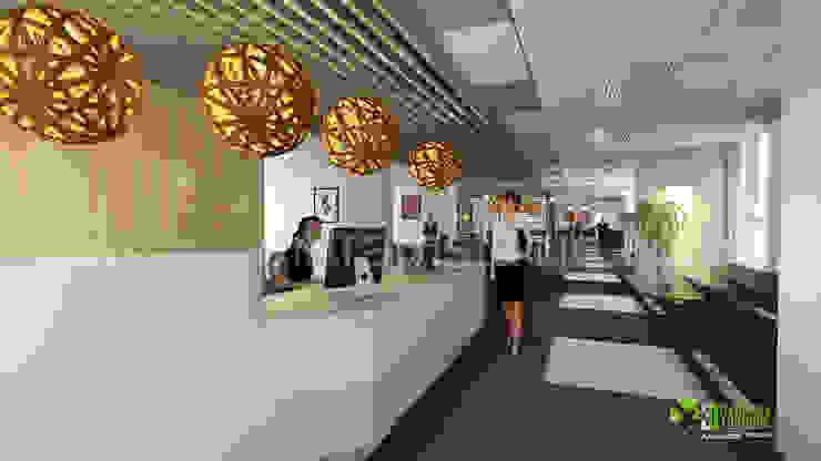 3D Interior Design Rendering For Office: modern  by Yantram Architectural Design Studio, Modern