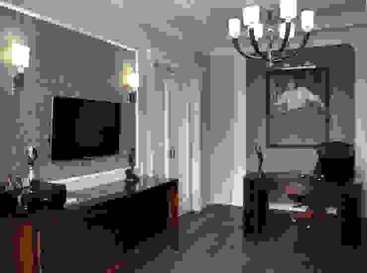 КРЕМ-БРЮЛЕ <q>ПО-КЛАССИЧЕСКИ</q> Рабочий кабинет в классическом стиле от студия дизайна архитектурной среды 'S-KVADRAT' Классический