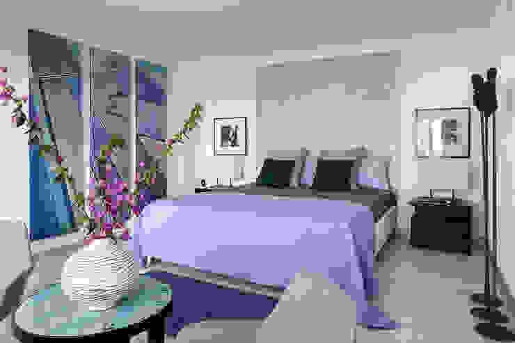 Camera da letto di PDV studio di progettazione Mediterraneo