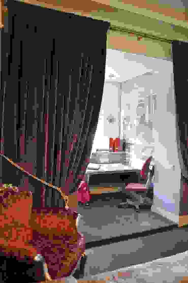 КРЕМ-БРЮЛЕ <q>ПО-КЛАССИЧЕСКИ</q> Детские комната в эклектичном стиле от студия дизайна архитектурной среды 'S-KVADRAT' Эклектичный