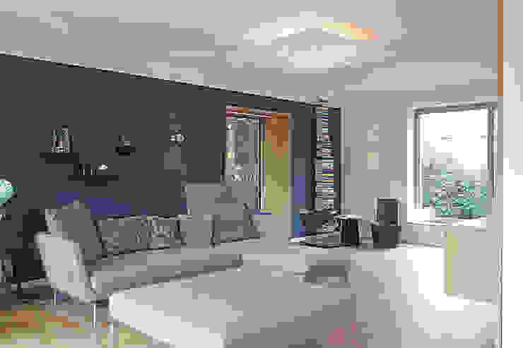Haus N Moderne Wohnzimmer von marcbetz architektur Modern
