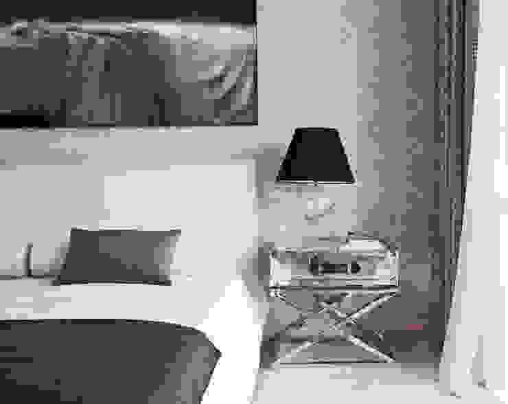 Дом в Сагаро, Испания. Спальная комната. IND Archdesign. Спальня в средиземноморском стиле от IND Archdesign Средиземноморский