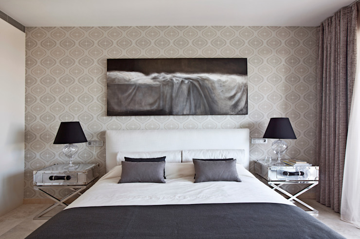 IND Archdesign Mediterranean style bedroom