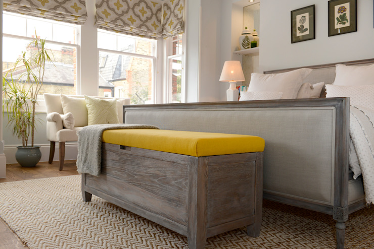 Family Home Ruth Noble Interiors BedroomBeds & headboards