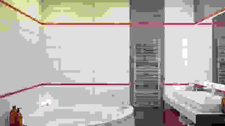 Ванная Ванная комната в стиле минимализм от tatarintsevadesign Минимализм