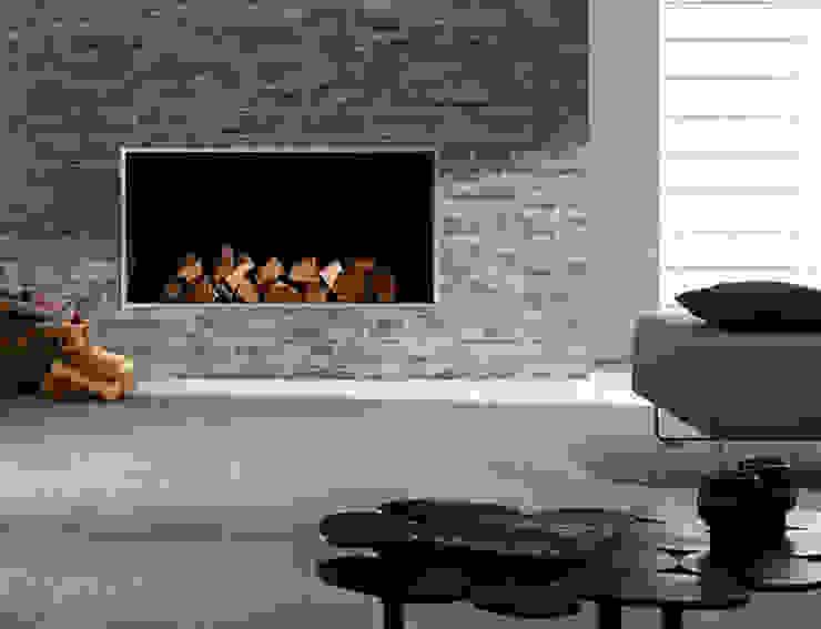 Structure Mosaic Fireplace Feature من Target Tiles تبسيطي